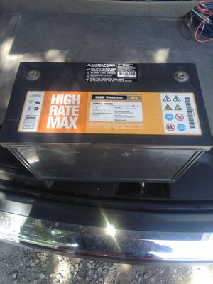High Rate Dry cell car audio battery for Sale in Cleveland, OH
