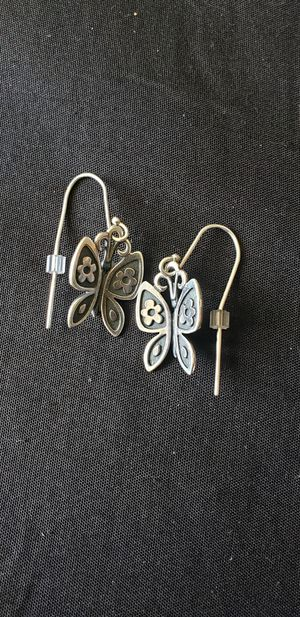 Seperate. James avery butterfly mariposa earrings necklace pendant for Sale in San Antonio, TX