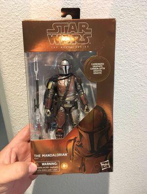 Target Exclusive Mandalorian Carbonized Star Wars Black Series for Sale in Clovis, CA