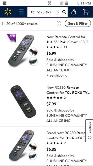 """Tcl Roku TV 66"""" for Sale in Dickinson, TX"""