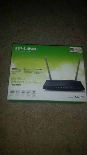 TP link wireless router AC1200 for Sale in Portland, OR