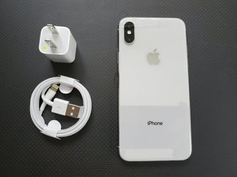 iPhone X (256gb), |Factory Unlocked & iCloud Unlocked..Full fresh Like New & This phone comes with accessories... for Sale in Springfield,  VA
