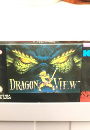 Dragon View Super Nintendo SNES for Sale in Seattle, WA