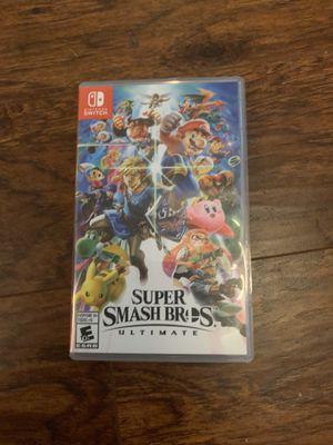 Super Smash Bro's Ultimate for Switch for Sale in San Antonio, TX