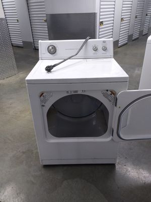 Heavy duty dryer works great Free delivery 6 month warranty for Sale in District Heights, MD