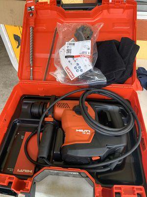 Brand new in the box hilti top of line sds hammer drill fcfs 525 cash for Sale in Plant City, FL