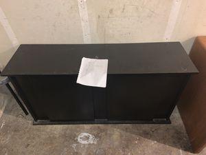 BLACK TV STAND for Sale in Monroe, WA