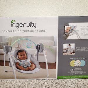 Ingenuity Baby Comfort 2 Go Portable Swing for Sale in Orlando, FL