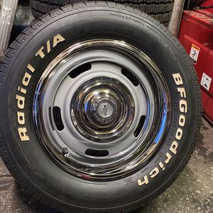 P235/60r15 BFGroodrich T/A About 90% And Wheels for Sale in Salinas, CA