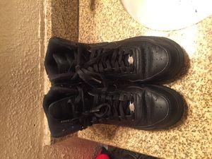Nike black Air Force 1s hightop for Sale in Houston, TX