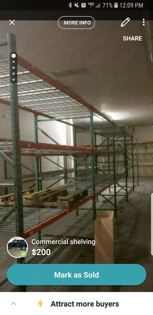 Commercial shelving for Sale in New York, NY