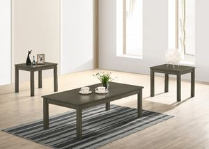 ONE COFFEE TABLE AND TWO END TABLES SET BRAND NEW for Sale in Scottsdale, AZ