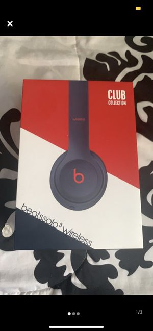 Beats solo 3 | Club Edition | for Sale in Freeport, NY
