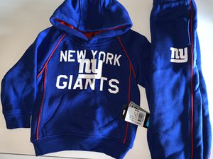 NY Giants NFL 2T sweat suit hoodie and pants for Sale in Killeen, TX