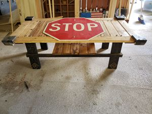 Stopsign table for Sale in Winfield, PA