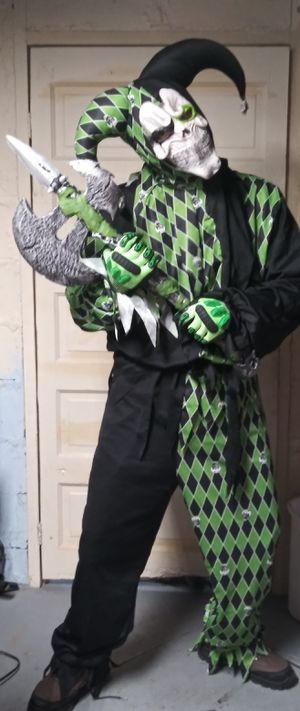 Halloween Costume Evil Jester...willing to trade for mountain bike or fat tire bike. Thank you! for Sale in Washington, PA