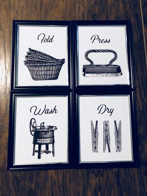 Laundry room home decor for Sale in Greer, SC