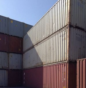Used Containers- 40' SD WWT Portable Connex Containers for Sale in Flint, MI