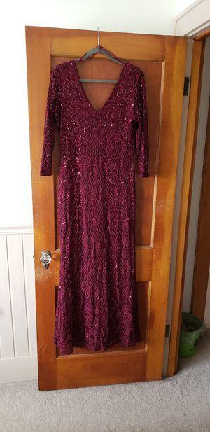 Burgundy dress for Sale in Tarentum, PA
