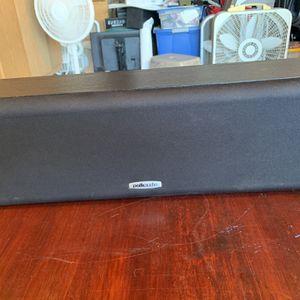 Polk CS10 Center Channel speaker for Sale in Fountain Valley, CA