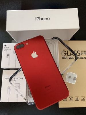 IPHONE 7+PLUS UNLOCKED FOR ANY CARRIER COMPANY & WORLDWIDE 128GB for Sale in Rosemead, CA