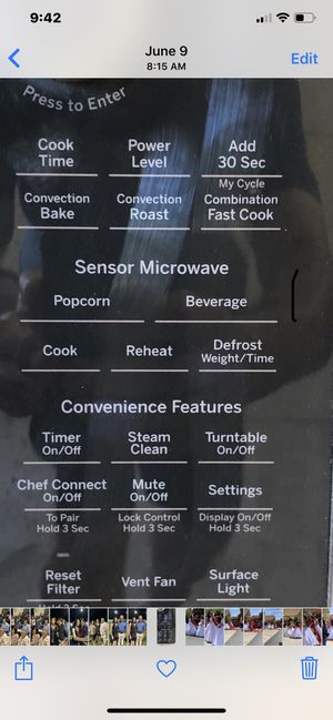 """GE 30"""" microwave, convection, hood, speed cooking, combination. for Sale in Clovis, CA"""