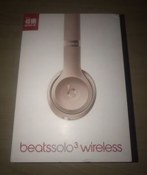 Beats Solo 3 Wireless Special Edition Rose Gold ♥️👌 for Sale in San Diego, CA