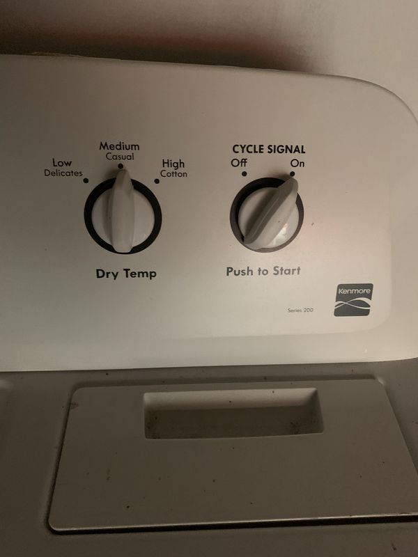 Electric dryer like new