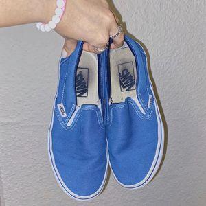 Blue slip on vans for Sale in Houston, TX
