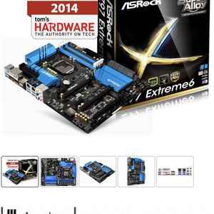 Z97 ASROCK Extreme6 Motherboard for Sale in San Diego, CA