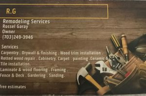 Remodeling services for Sale in Springfield, VA