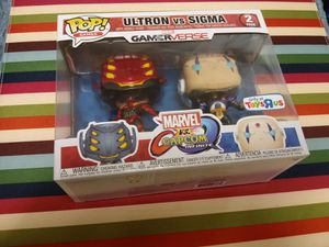 (11$) Funko Pop Capcom versus Marvel collectible toy - in case 2 - new accent toys - play - games - system - Xbox - Nintendo - TV - 720P for Sale in Naples, FL