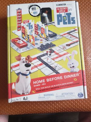 Secret life of pets board game for Sale in Greeneville, TN