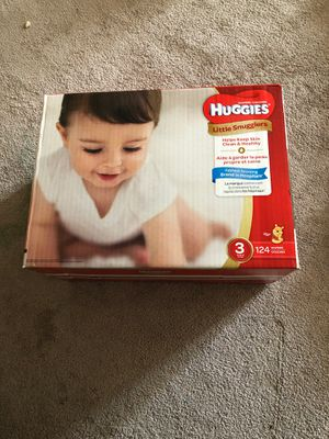 Huggies Size 3 BRAND NEW for Sale in Seattle, WA