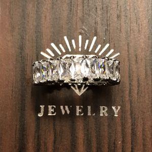 🔥18K Gold plated , Fashion Princess Cut Gemstone 💎 for Sale in Dallas, TX
