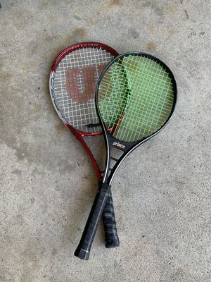 Tennis rackets for Sale in Grayslake, IL