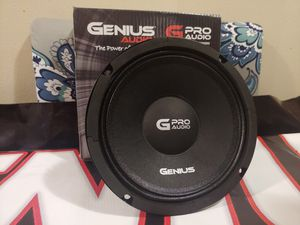 "New 6.5"" Genius Audio Pro Vocal Midrange Speaker $30 each for Sale in Schenectady, NY"