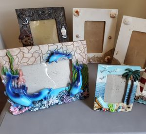 5-EACH Nautical-themed picture frames in new conditions. for Sale in Duluth, GA