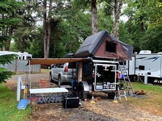 Custom Camping Trailer with IKamper Skycamp 1.0 Rocky Black - $7,000 for Sale in Renton,  WA