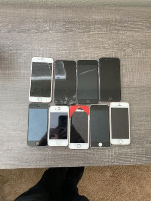 iPhones for parts 6,6s,SE for Sale in Riverside, CA