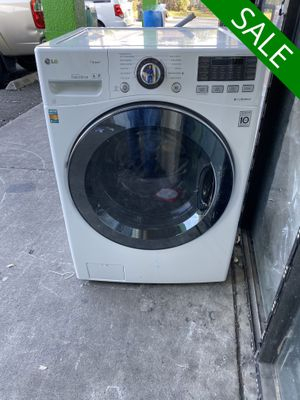 😍😍Washer LG White Front Load #969😍😍 for Sale in Indian Harbour Beach, FL