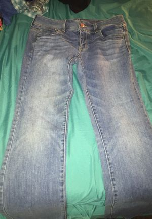 Size 8 Slim boot cut AMERICAN EGALE Jeans for Sale in Appomattox, VA