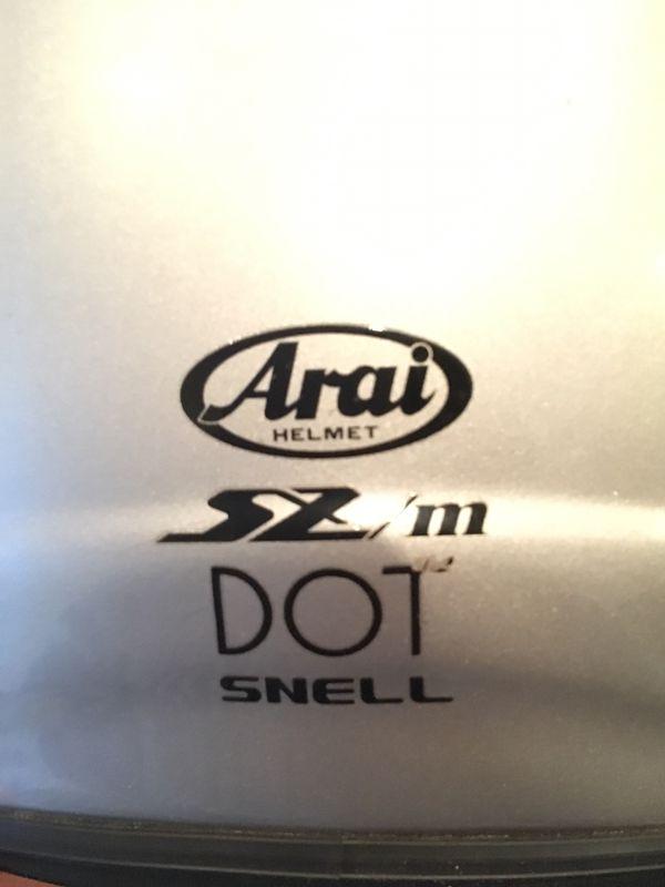 Arai motorcycle helmet XL