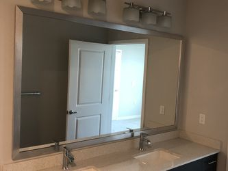 """Large And Medium Brand New Mirrors For Sale. Sizes 46"""" Height By 57"""" Wide And 46"""" Wide By 74 Wide for Sale in Orlando,  FL"""