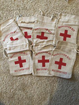 Hangover Kit Burlap Bag for Sale in Manassas, VA