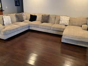 Ashley Sectional w chase for Sale in Ontario, CA