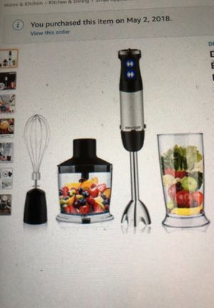 Powerful Hand Blender New in Box for Sale in Manchester Township, NJ
