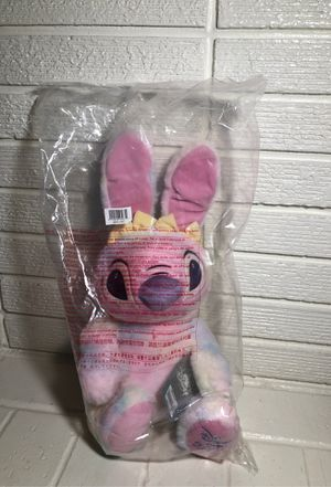 "Disney Store 2020 Angel (Lilo & Stitch) Plush Bunny- 15"" NWT for Sale in Chino Hills, CA"