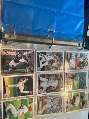 250+ topps baseball cards plus 3 rookie NFL cards for Sale in Waretown, NJ