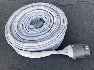 "3"" 50ft retired fire hose for Sale in San Juan Capistrano, CA"